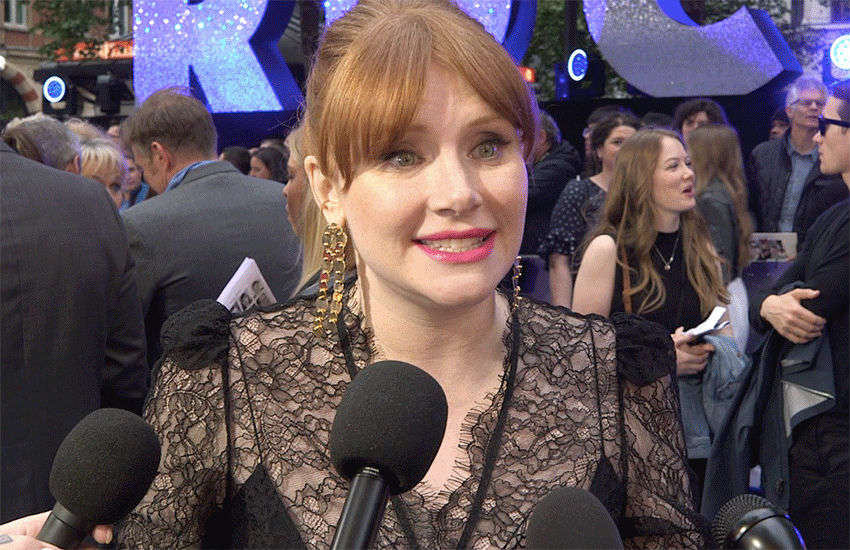 Bryce Howard Dallas at last night's Rocketman premier in London | Photo: GSN