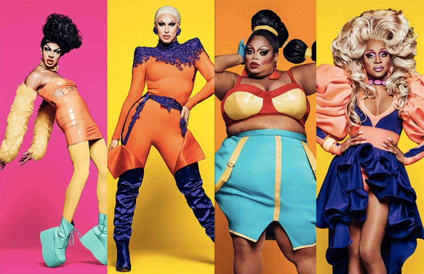 Yvie, Brooke Lynn, Silky and A'keria | Photo: VH1/World of Wonder