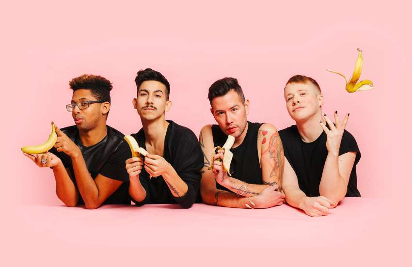 Food 4 Thot . are the hillarious weekly podcast, who are taking part in this week's Digital Pride festival | Photo: Food 4 Thot