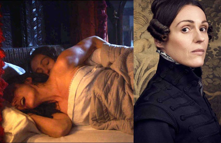 Sex scene of Gentleman Jack.