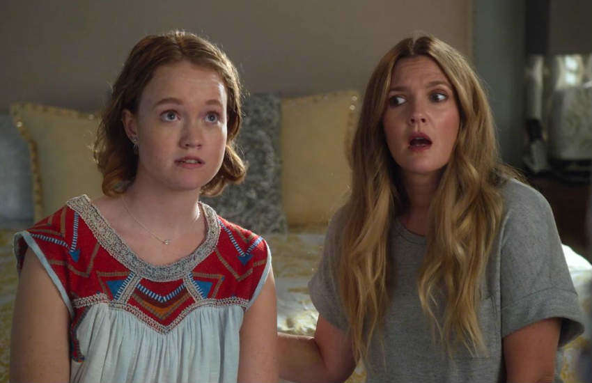 Liv Hewson and Drey Barrymore in Santa Clarita Diet.