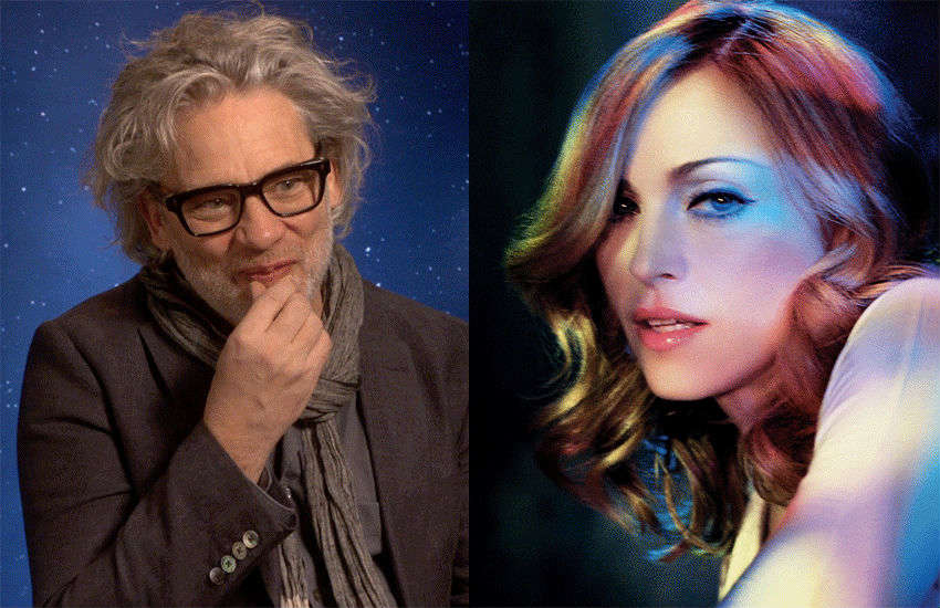 Dexter Fletcher and Madonna | Photos: GSN/Warner Bros.