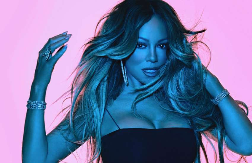 Mariah Carey in a promotional shot for Caution | Photo: Epic