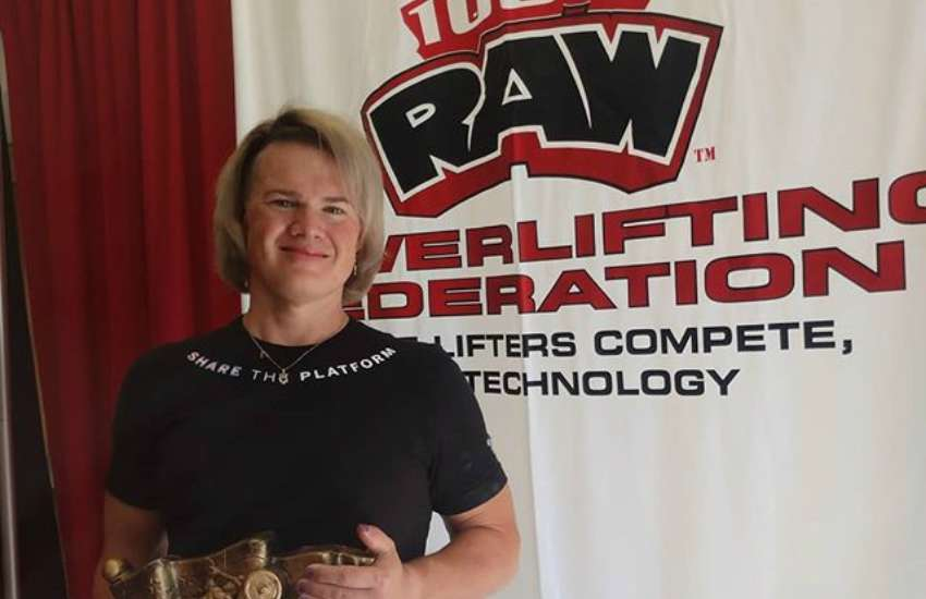 Mary Gregory obliterated several world records in powerlifting