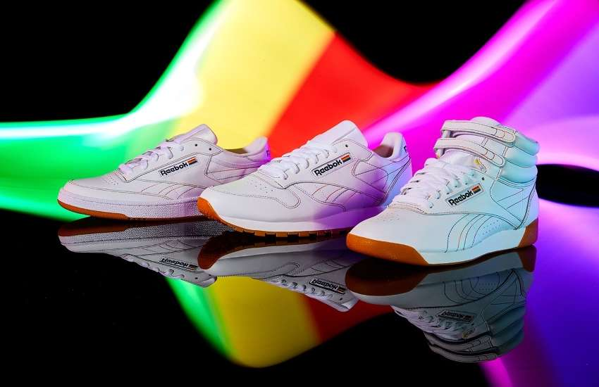 Reebok's Pride footwear collection