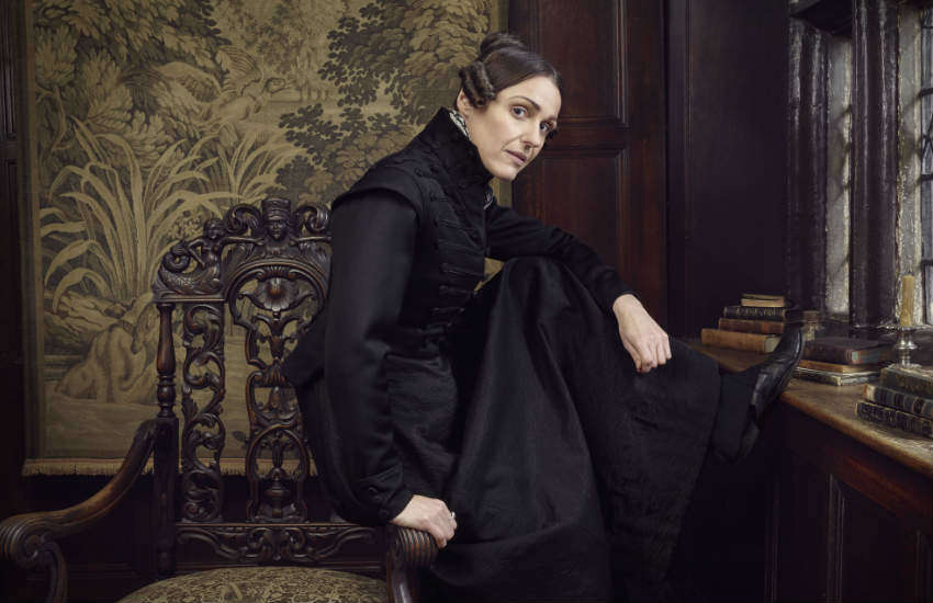 Suranne Jones as Anne Lister in Gentleman Jack.