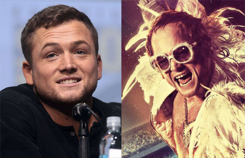 Taron Egerton plays Elton John in Rocketman | Photos: Wiki/Paramount