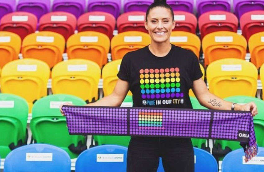 Ali Krieger is a soccer star on the US team | Photo: Instagram