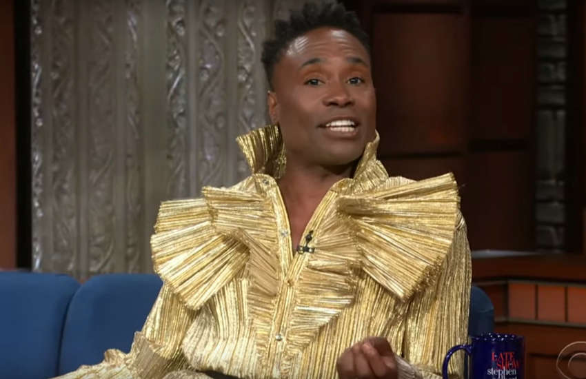 Billy Porter on The Late Show with Stephen Colbert
