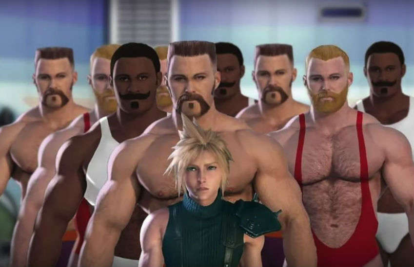 One fan has imagined what one Final Fantasy 7 scene will look like | Photo: YouTube