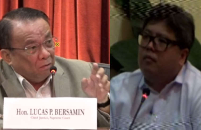 Jeremy Benigno Gatdula (right) at his judiciary hearing (Photo: YouTube)