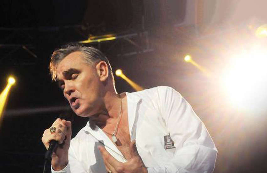 Morrissey is now infamous for his controversial comments on race (Photo: Facebook)