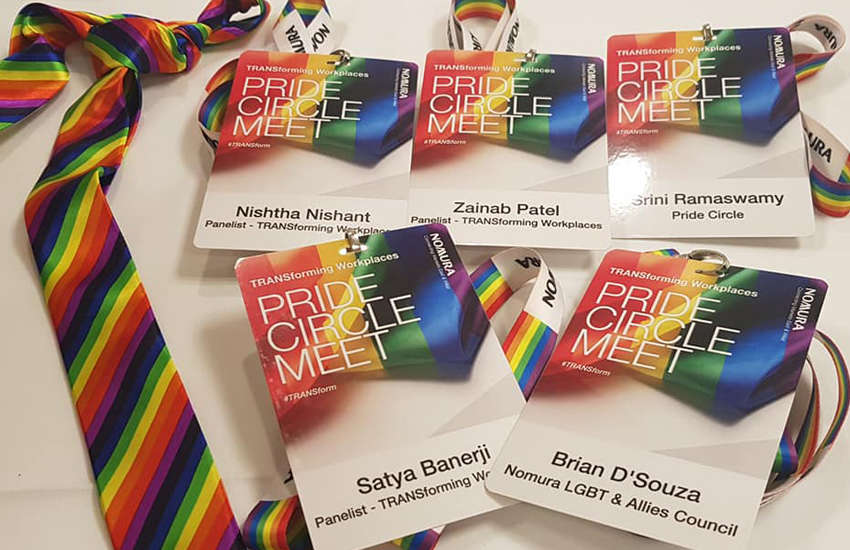 Organizers Pride Circle wanted to put on the job fair after little changed for LGBTI employees following India's landmark decriminalization of gay sex (Photo: Facebook)