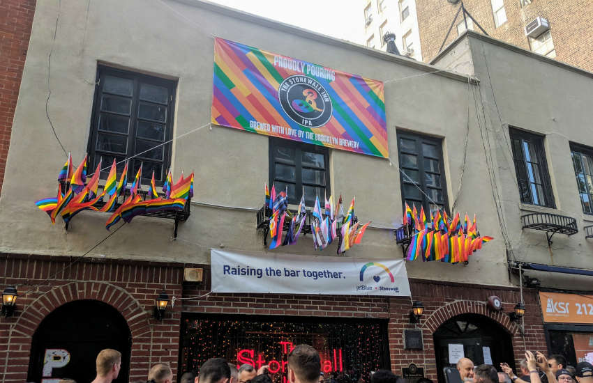 The historic Stonewall Inn