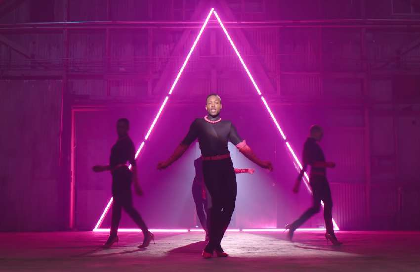 Todrick Hall in his new music video