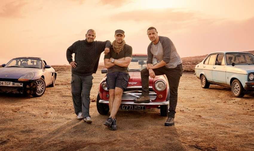 The new hosts of Top Gear