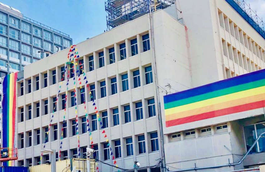 The US Embassy in Jerusalem joins embassies around the world in defying Trump's ban on Pride flags