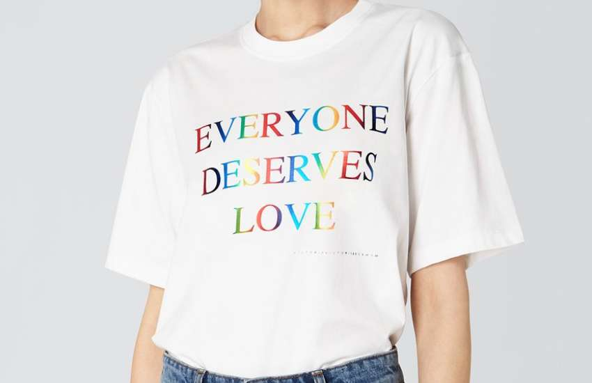 There's only 150 of these limited-edition T-shirts by the singer, model, and designer | Picture: Victoria, Victoria Beckham