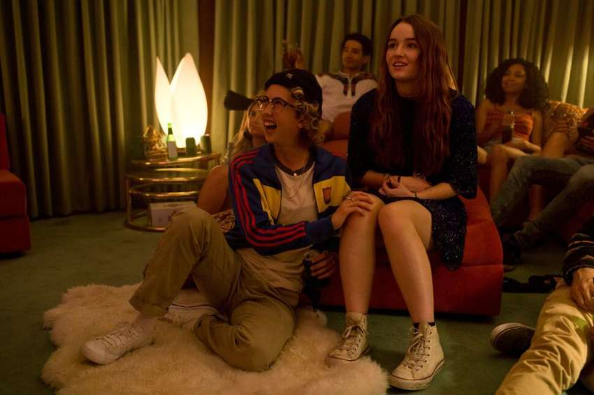 Booksmart features a drama-free, lesbian teenager.