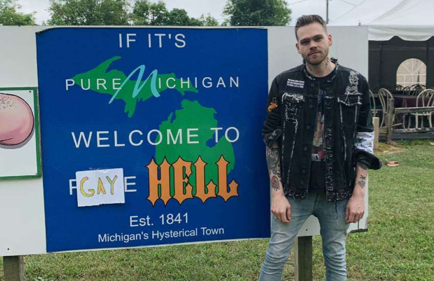 Elijah Daniel, mayor of Gay Hell.
