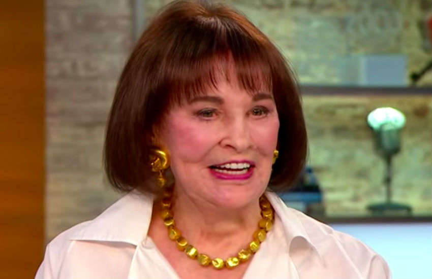 Gloria Vanderbilt interviewed on CBS This Morning in 2016 (Credit: CBS/YouTube)