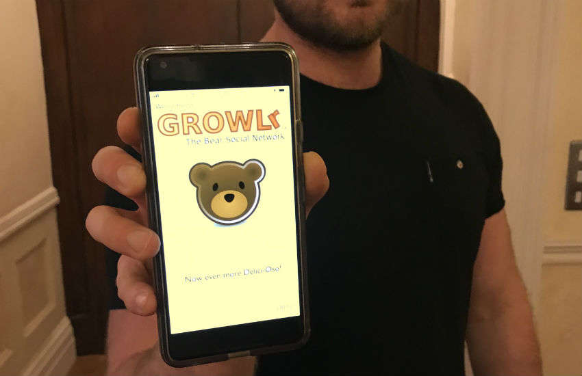 Dating app Growlr is aimed at bears and their admirers