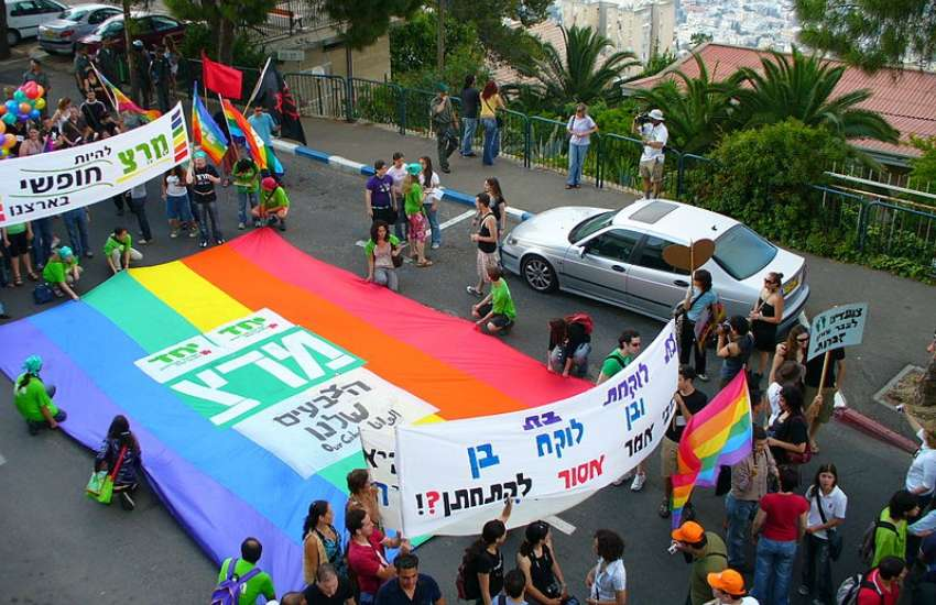 Haifa Pride celebrations in 2007 | Yuval Y / Wikimedia Commons