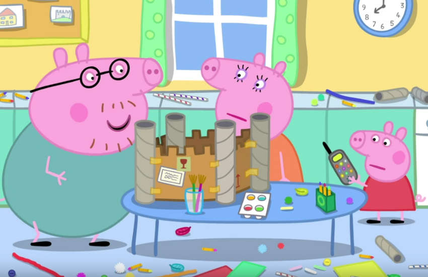 peppa pig same-sex lgbt family petition