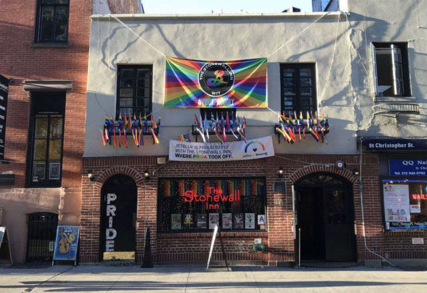 The Stonewall Inn in 2017
