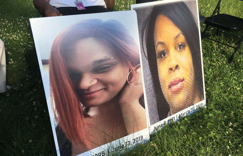 The two trans women were killed within months of each other