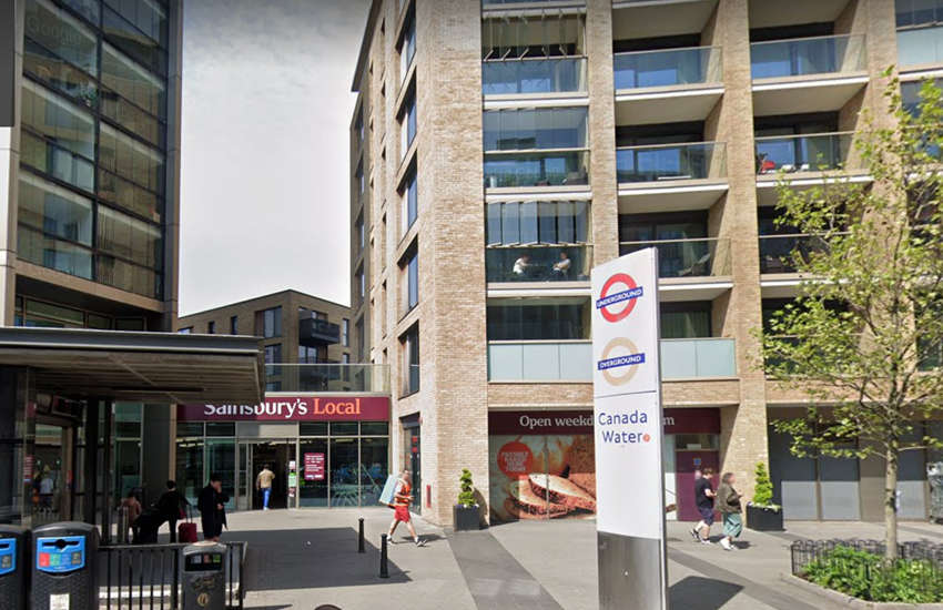 A Google street view shot of the reported location of the homophobic attack. (Photo: Google)