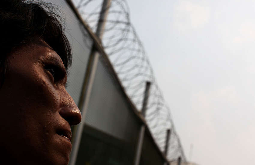 A prisoner in Indonesia (Photo: Flickr/Department of Foreign Affairs Australia)