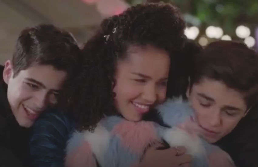 Andi Mack cast hug in emotional series final