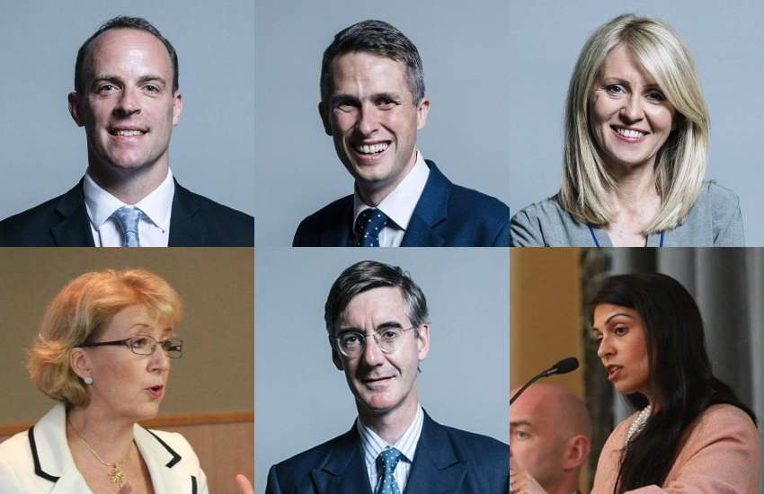 There are no LGBTIs in Boris Johnson's new cabinet | Pictures: Wikimedia Commons