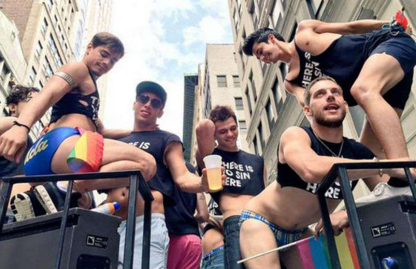 Cocky Boys at NYC Pride | Photo: Cocky Boys