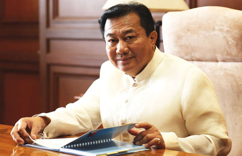Congressman Pantaleon Alvarez filed the bill in the Philippines Congress for the second time (Photo: Facebook)