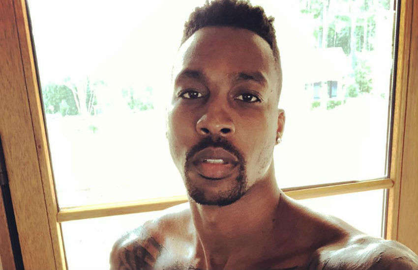 Dwight Howard shirtless selfie