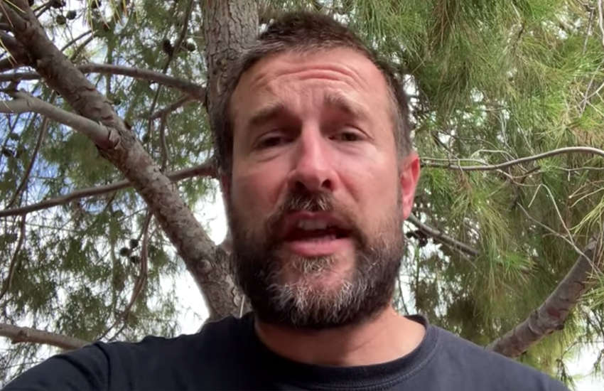 Homophobic pastor Steven Anderson once said 'I wish every homo would die' (Photo: YouTube)