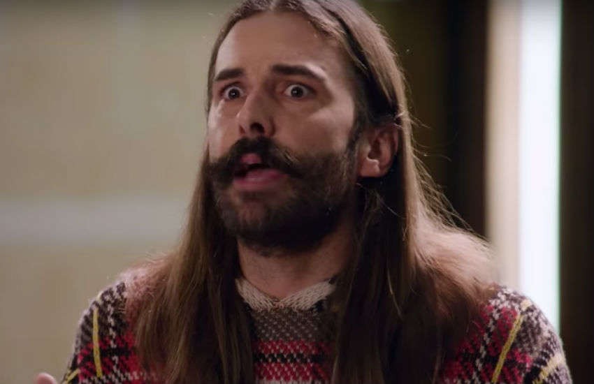 Jonathan Van Ness from Netflix show Queer Eye
