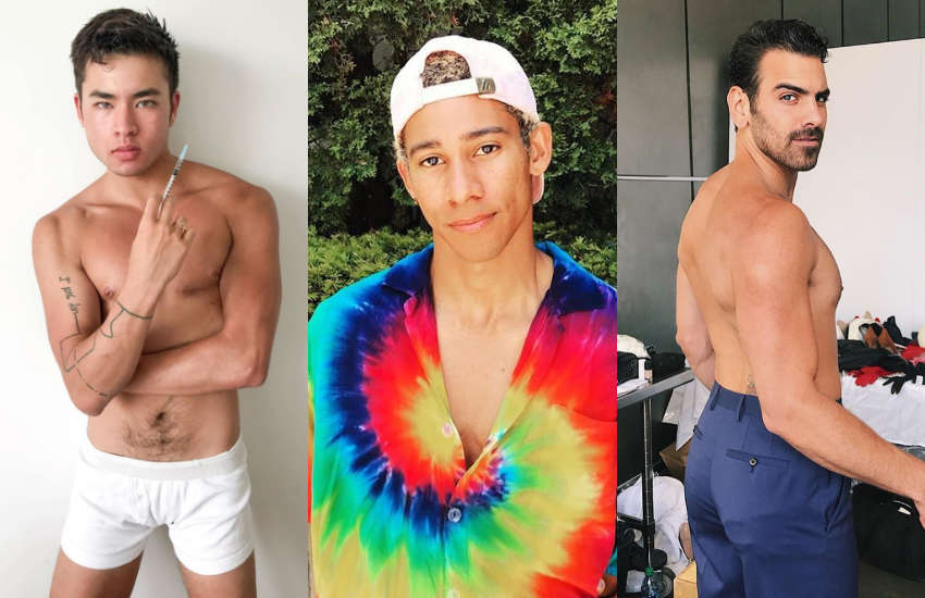 (L-R) Chella Man, Keiynan Lonsdale, Nyle DiMarco could play Prince Eric in The Little Mermaid