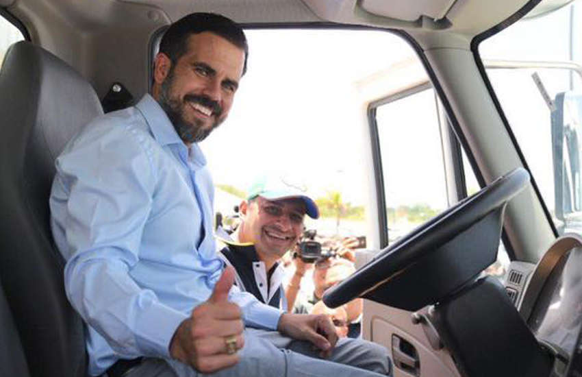 Ricardo Rossello on Monday said he would not be stepping down as governor of Puerto Rico (Photo: Facebook)
