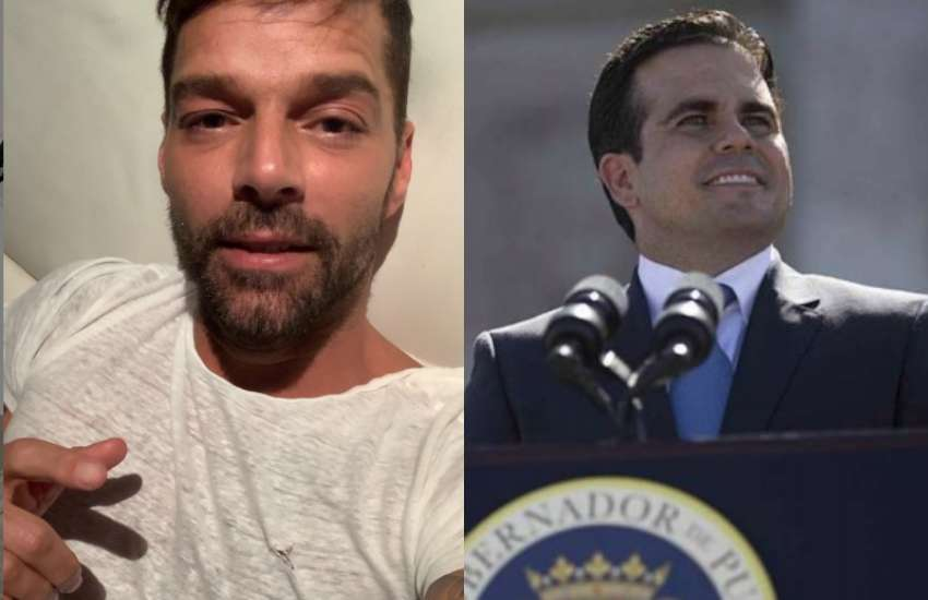 Ricky Martin spoke with admitration of the protest that resulted in the resignation of Ricardo | Pictures: Instagram/ Wikimedia Commons
