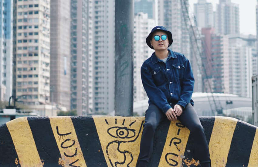Singapore rapper The G3sha came out last week. (Photo: Facebook)