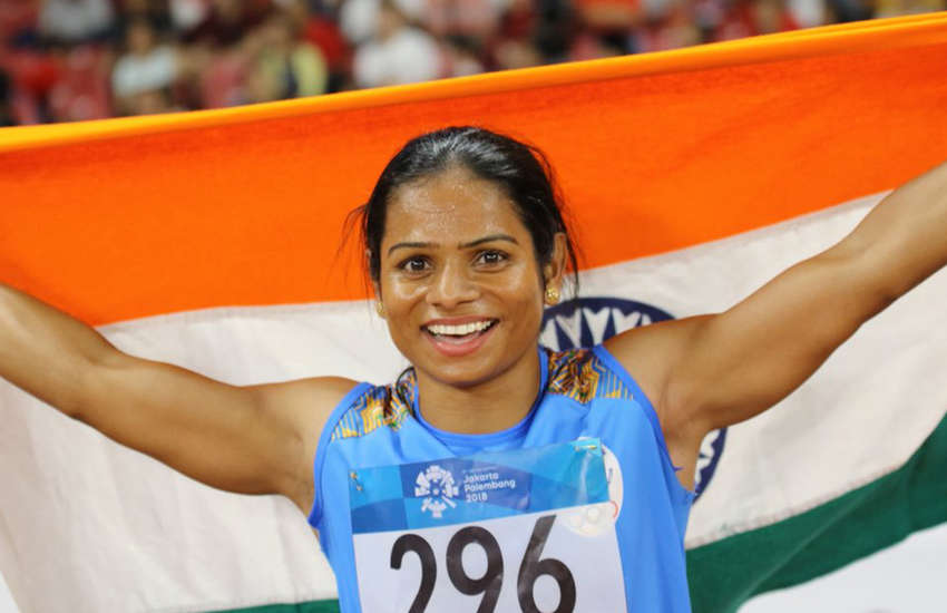 Sprinter Dutee Chand is official the fastest woman in India. (Photo: Twitter)