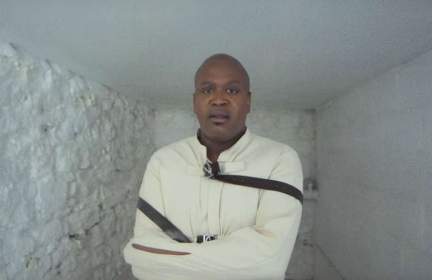 Tituss Burgess in the video for 45
