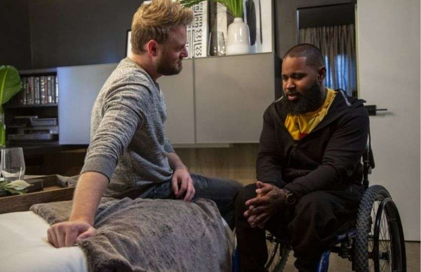 Bobby Berk and Wesley in the new Queer Eye | Photo: Netflix