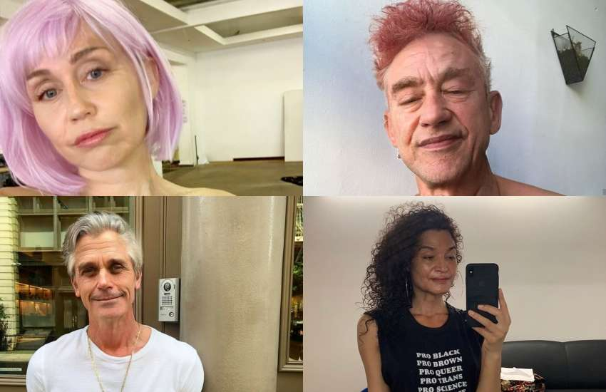 FaceApp is trending again and this is what your favorite LGBTI celebs would look like old | Pictures: Instagram / FaceApp