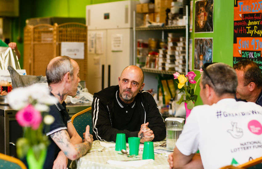 The Food Chain operates a kitchen in King's Cross where people can share meals together