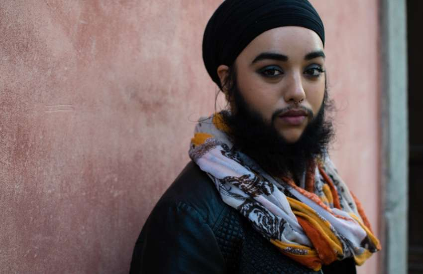 Bearded lady' Harnaam Kaur: 'I don't give a sh*t about gender ...
