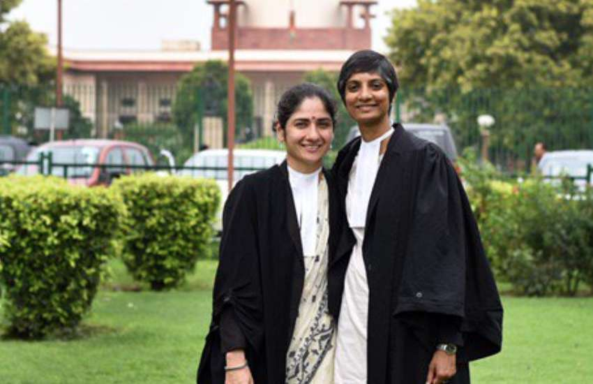 Lawyers Arundhati Katju and Menaka Guruswamy argued against Section 377 in India